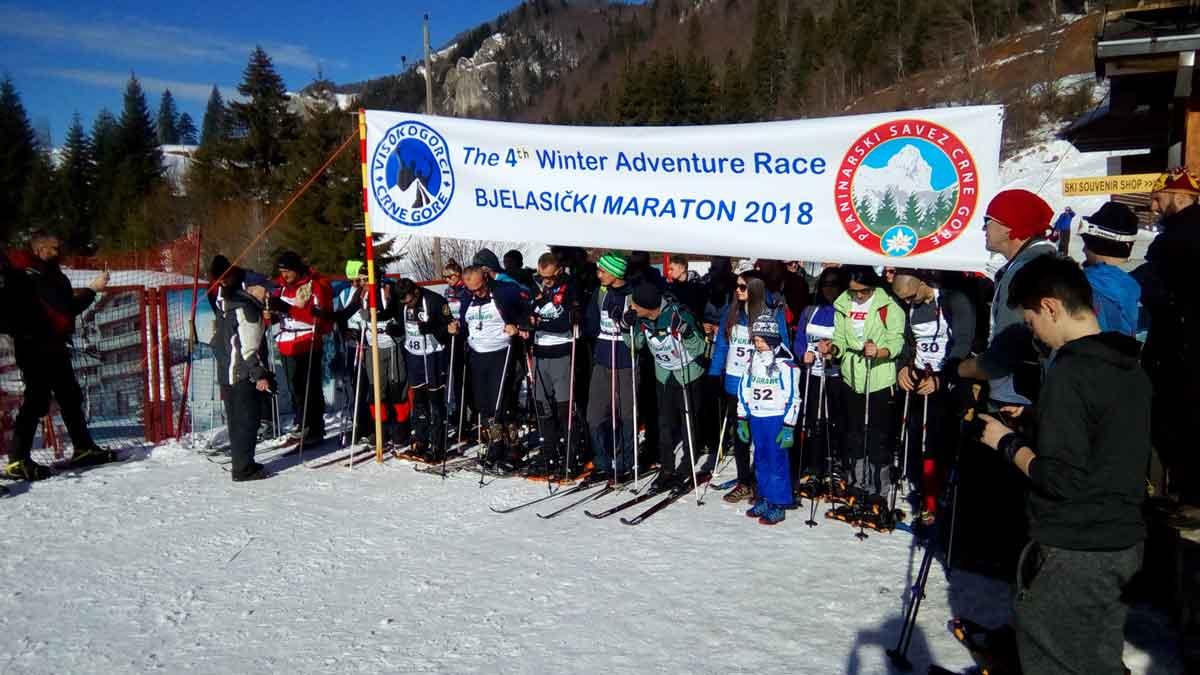 """4 th Winter Adventure Race-Bjelasički maraton 2018"""
