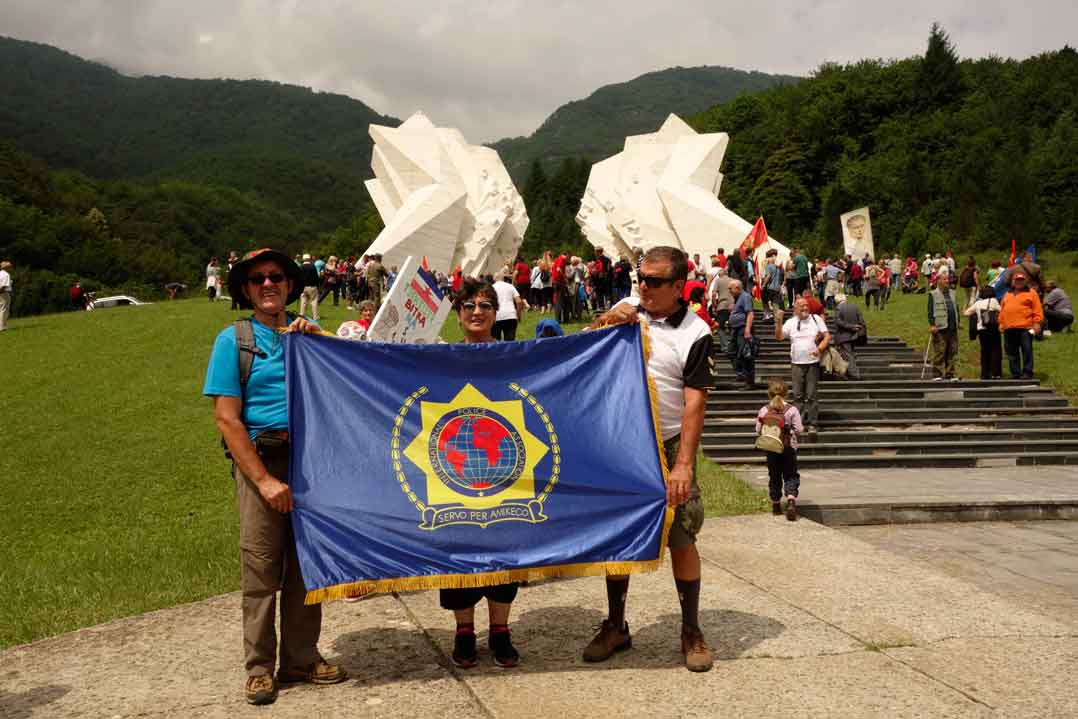 Delegacija IPA Sekcije Crna Gora prisustvovala proslavi  sedamdesetpetogodišnjice bitke na Sutjesci