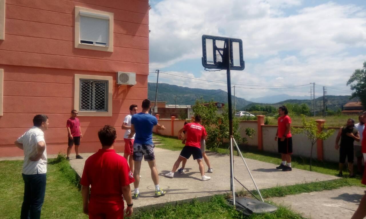 """Turnir u basketu, održan u okviru projekta """"Pomoć za specifične ciljne grupe pod zaštitom UNHCR-a"""""""