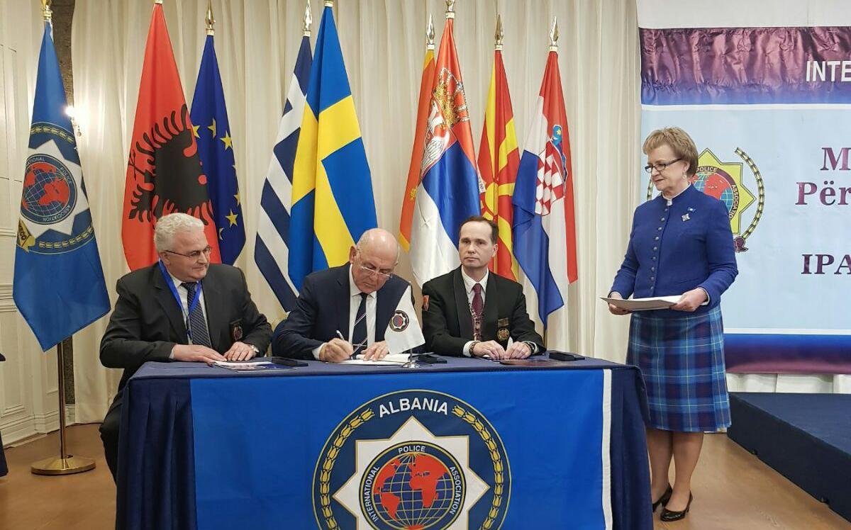 Naše predstavnice na osnivačkoj Skupštini IPA Sekcije Republike Albanija