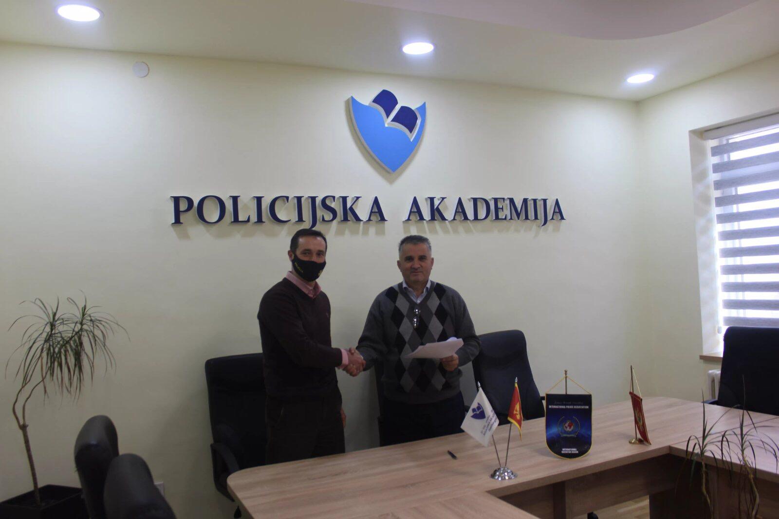 Potpisan Ugovor o saradnji sa Policijskom akademijom Danilovgrad