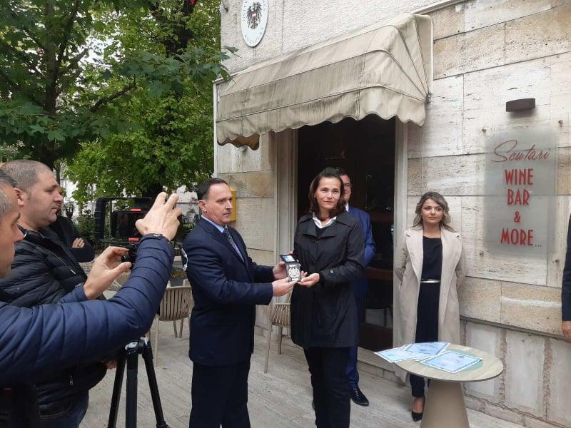 Dodijeljeno posthumno priznanje kolegi iz albanske policije
